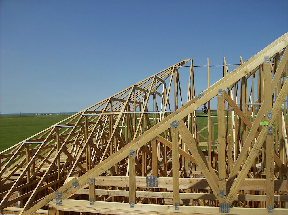 Kansas wood trusses