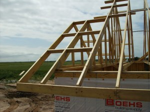 wood trusses in Kansas