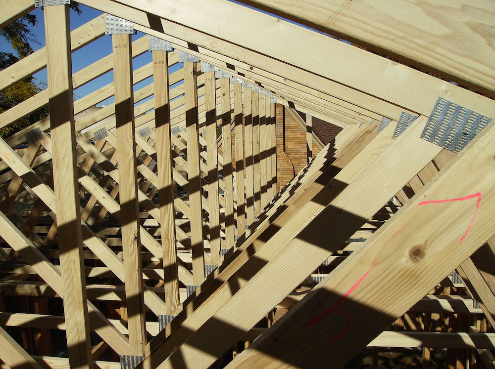 Oklahoma wood trusses