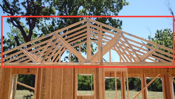 Differences between trusses stick framing common for Cost to install trusses